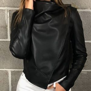 Other - Posh La Marque Vegan Leather Multi-Purpose Blazer